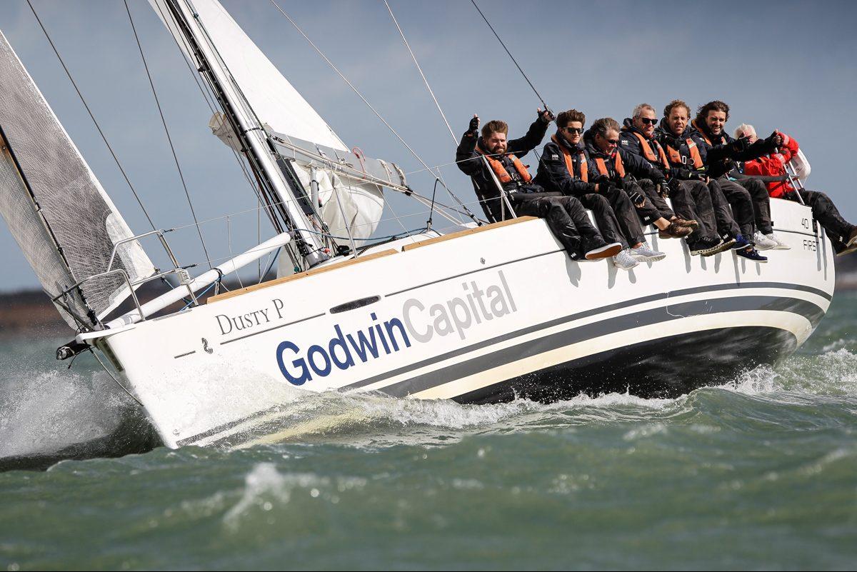 Regatta Win Leads to Charitable Donation from Godwin Team