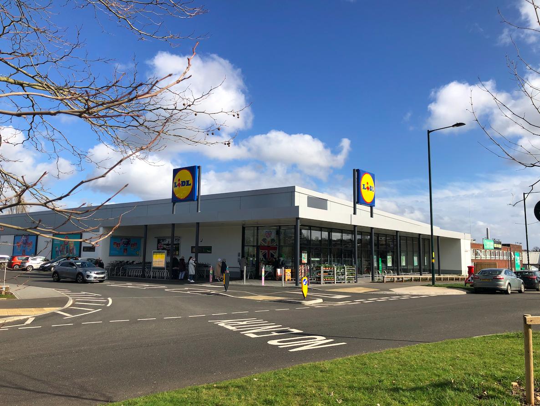 Lidl Supermarket Birmingham investment sale