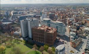 The Bendigo Building Overhead Image